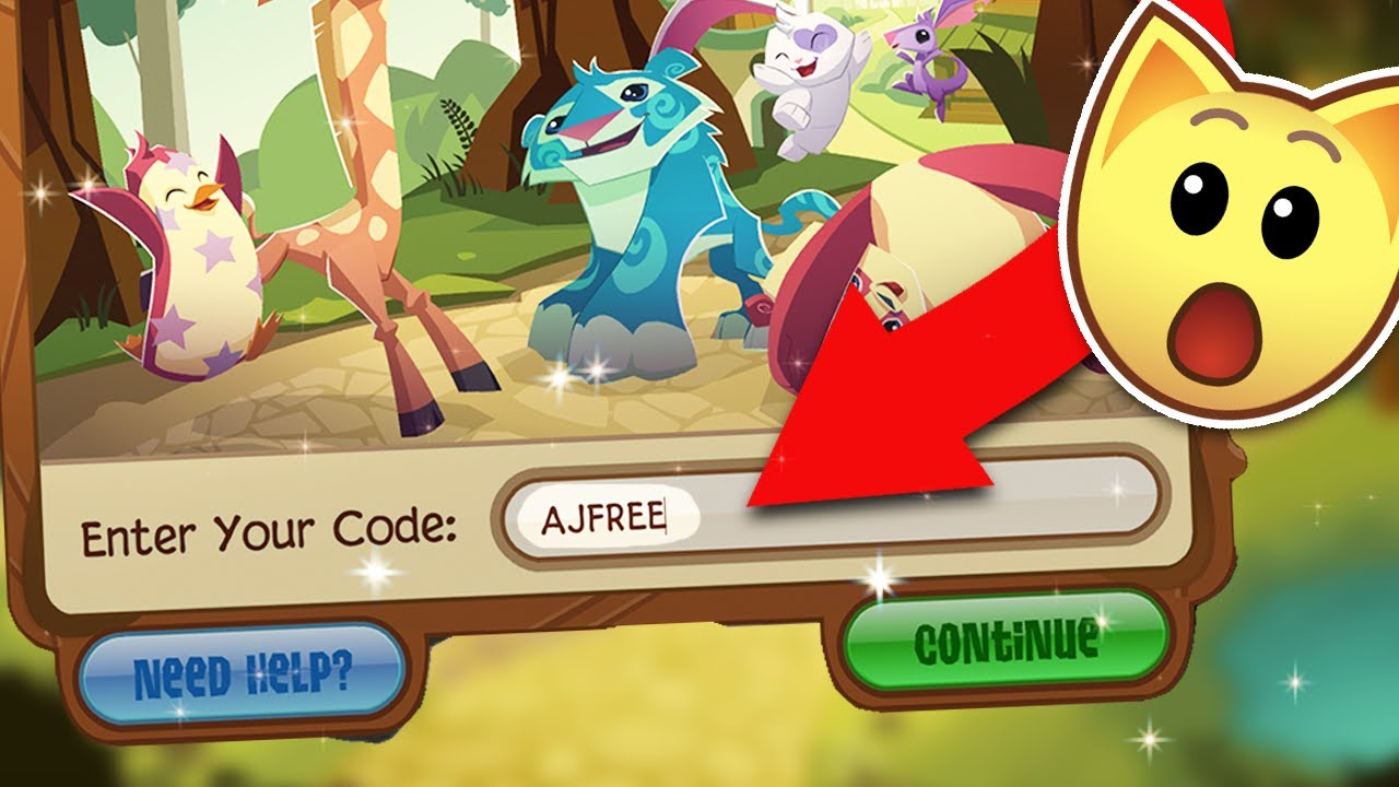 Free Animal Jam Membership Code Youtube