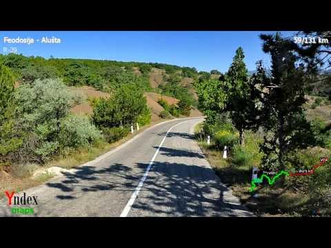 Yandex Panorama Video: Alušta - Feodosija
