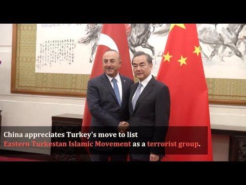 China Lauds Turkey for Listing East Turkestan Islamic Movement As Terrorist Group: Chinese FM