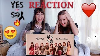 TWICE - YES OR YES REACTION | 트와이스 - YES OR YES 뮤비 리액션