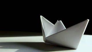 Як зробити КОРАБЛИК З ПАПЕРУ а4 покрокова інструкція. Паперовий кораблик. Орігамі з паперу