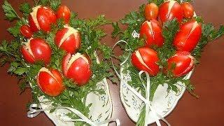 Как приготовить салат Тюльпан