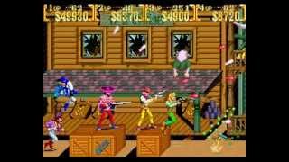 Gambar cover Sunset Riders 4 players arcade Netplay: game 2