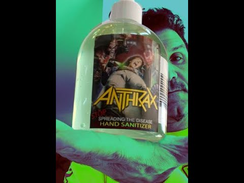 ANTHRAX to release Stop Spreading The Disease hand sanitizer