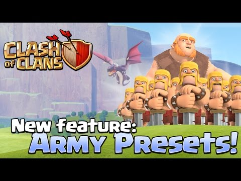 Clash Of Clans Update: ALL NEW TROOP TRAINING [Quick Train Feature]