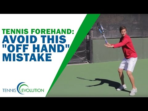 "Tennis Forehand | Avoid This ""Offhand"" Tennis Forehand Technique Mistake"