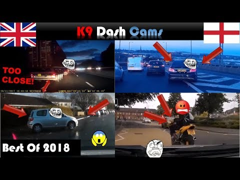 UK Dash Cam Best of 2018 | Close Calls | Bad Driving