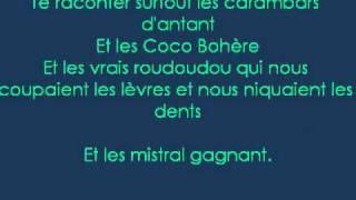 Renaud - Mistral Gagnant + Lyrics