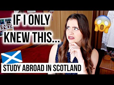 8 Things I Wish I Knew Before Studying Abroad In Scotland ✈️🏴