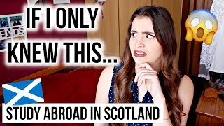8 Things I Wish I Knew Before Studying Abroad in Scotland ✈️🇬🇧