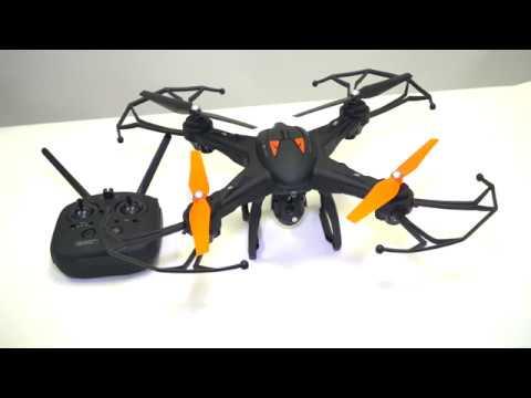 Vivitar SKEYEVIEW 360 Camera Drone Video 1 Intro & Assembly