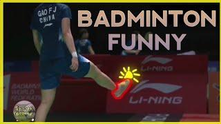 รวมช็อตขำขันแบดมินตัน   Badminton Funny   [ Sports.around ]