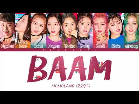 MOMOLAND - BAAM (Color Coded Lyrics Eng/Rom/Han)