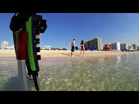 Beach Metal Detecting with Jets
