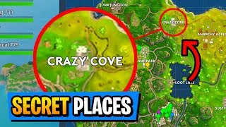 Fortnite Battle Royale : 5 Secret Places You Didnt Know About (PS4/XboxOne/PC)
