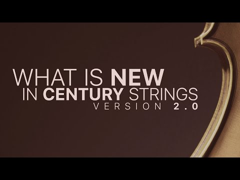 What's New In Century Ensemble Strings 2.0