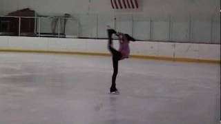 Figure Skating Spin Practice