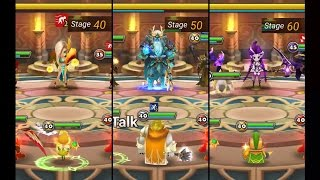 Summoners War TOA Normal Stage 40, 50, 60 (June 2016 Obtainable Monster )