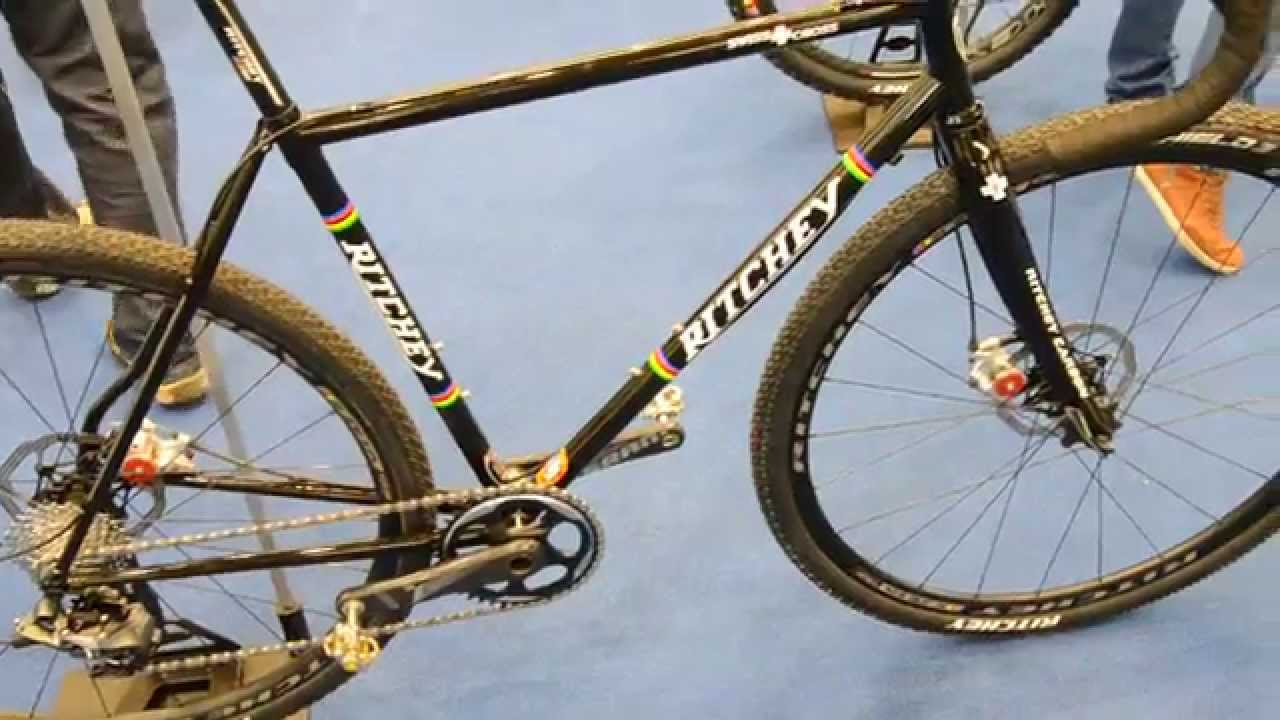 Eurobike 2014 Ritchey Steel Cyclocross Bike Frame Youtube
