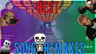 BEST Song Remakes With Music Blocks! SAD!, SICKOMODE, MANY MORE! (Fortnite Creative)