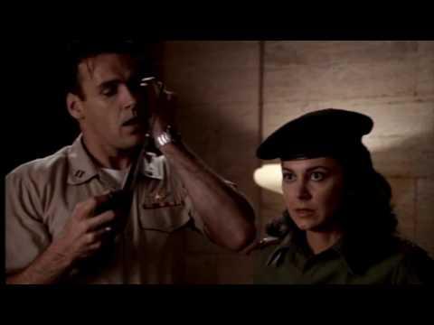 Natasha Pavlovich as an Iraqi Lieutenant
