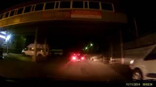 Смотреть видео FHD0202 Москва, 21.10.2017, культура вождения онлайн