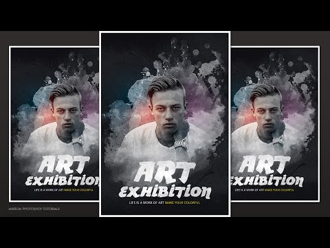 Creative and Artistic Poster Photoshop Tutorial