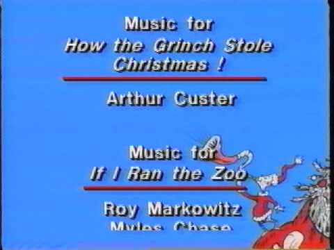 Closing To How The Grinch Stole Christmas/If I Ran The Zoo 1992 ...