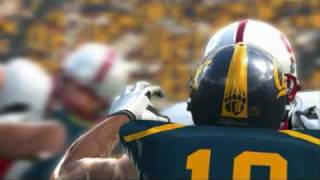 Utopia Video Podcast - First Screen of NCAA Football 10