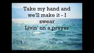 Bon Jovi - Livin on a prayer (LYRICS)