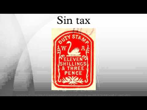 sin tax Any word on whether the sin tax (bill # 32-0005: ) has been approved by all levels i know.