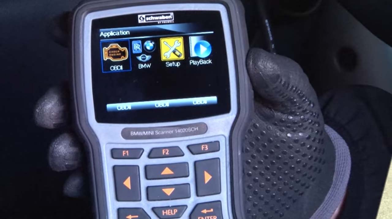 R50/R53 Schwaben BMW/MINI scan tool - R53 Video Review