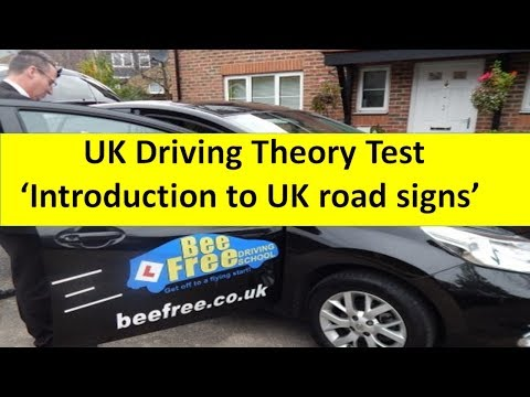 UK Driving theory test 2018│Introduction to UK road signs