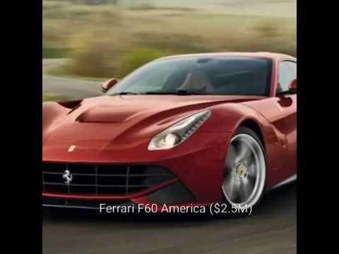 Ferrari F60 America Price Of 25m Most Expensive Car In A World