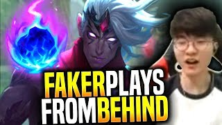 Faker Show you How to Play when you are Behind! - SKT T1 Faker Picks Varus ADC! | SKT T1 Replays
