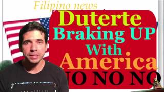 Rodrigo Duterte wants to brake up with America and says GO TO HELL OBAMA