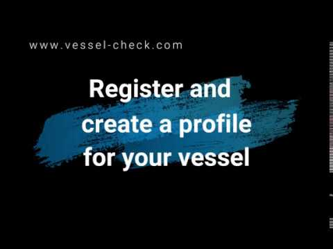 Register and Create a Profile for Your Vessel