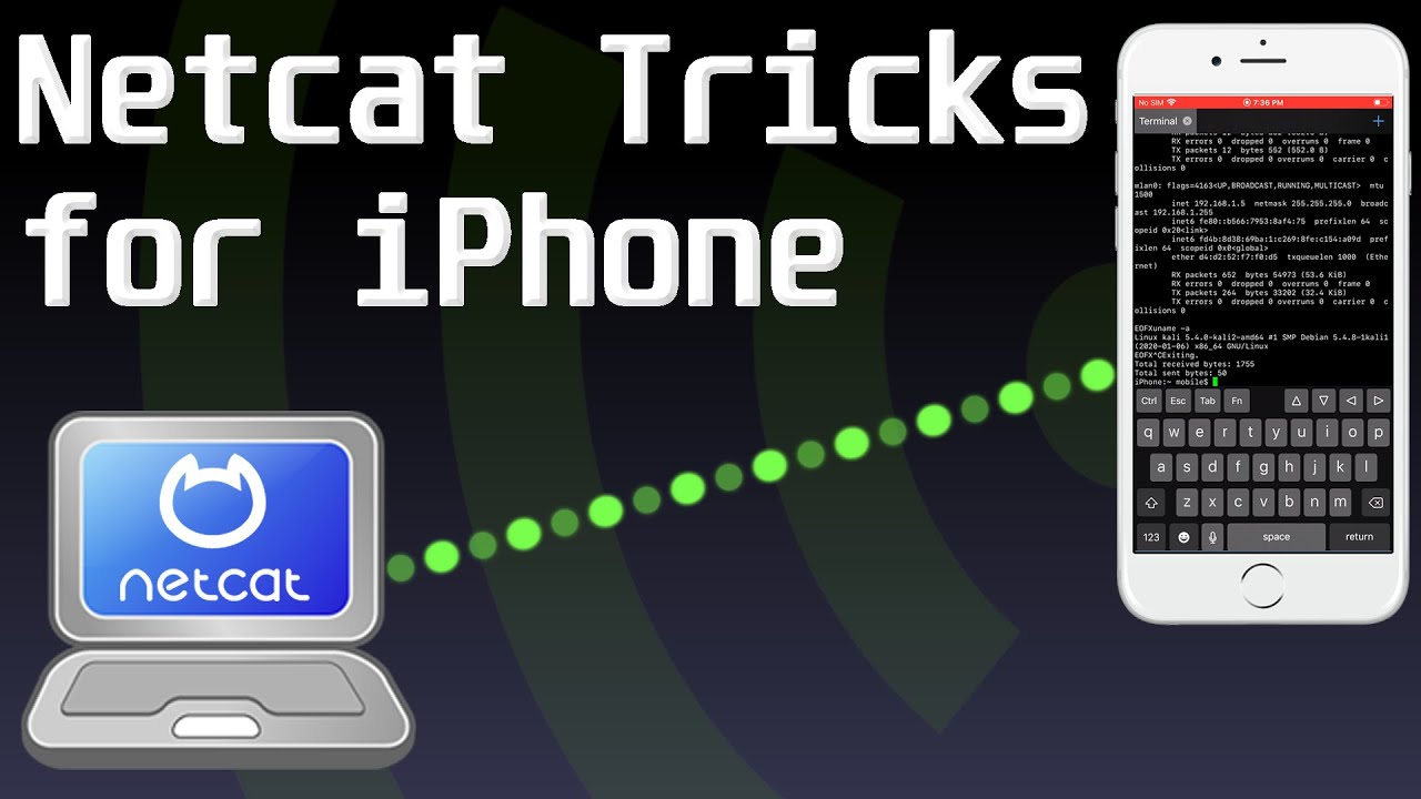 Netcat Tricks for iPhone (Jailbreak Required)