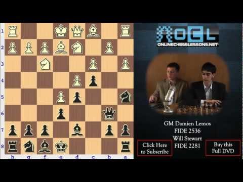 Crushing White - The French Defense - GM Damian Lemos and Will Stewart (EMPIRE CHESS)