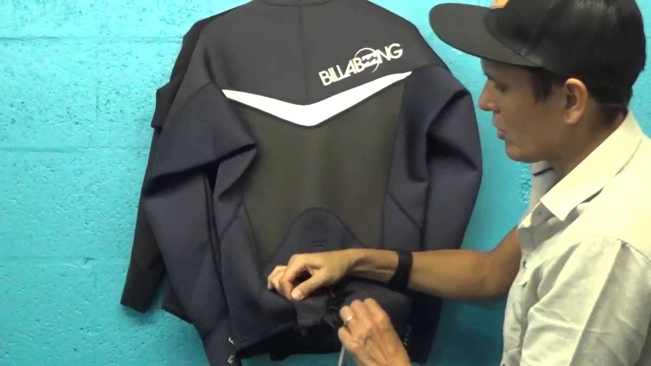 Billabong Foil Jacket 2mm Long Sleeve Neoprene  8f78e51d6