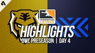 Seoul Dynasty vs New York Excelsior ft Mano Pine | Overwatch League Preseason Highlights Day 4
