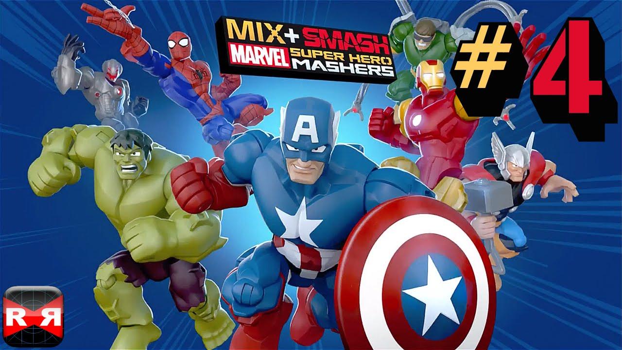 Mashers Marvel Man Iron Super Hero