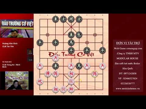 Trân 14 Giải Sông Hồng: HOÀNG VĂN VINH (Tân Yên, Bắc Giang) VS VŨ TUẤN ANH (Tràng An, Ninh Bình)