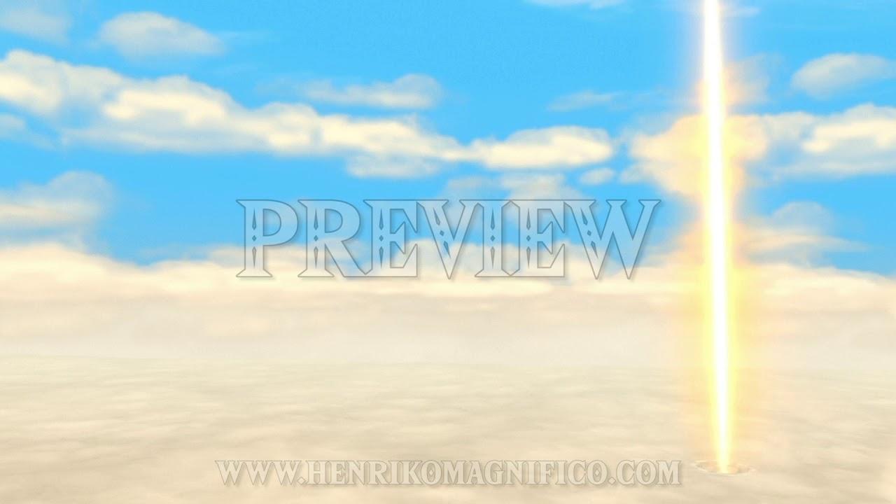 Zelda: Skyward Sword (The Sky) - 1080p 60FPS Looping Background