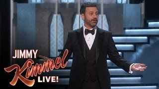 Jimmy Kimmel's Oscars Monologue(Jimmy's opening monologue from the 2017 #Oscars. SUBSCRIBE to get the latest #KIMMEL: http://bit.ly/JKLSubscribe Watch the latest Halloween Candy Prank: ..., 2017-02-27T02:54:33.000Z)