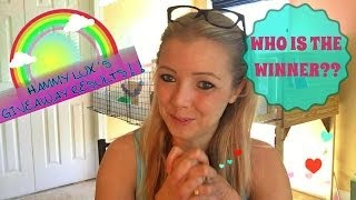GIVEAWAY Results! Hamster contest♥ Thumbnail