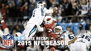 2015 NFL Season in Six Minutes!