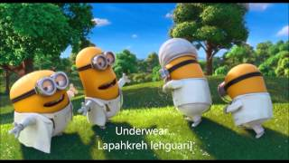 Minion Song - Underwear (HD with lyrics)