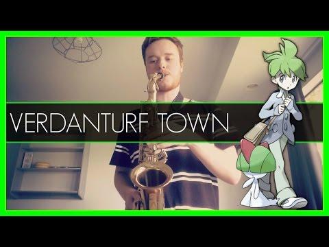 Verdanturf Town - Pokemon R/S/E (Alto Sax Cover) w/ SHEET MUSIC