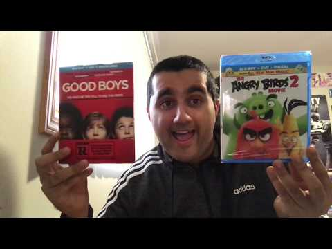 Good Boys AND The Angry Birds Movie 2 BOTH ON Blu-Ray UNBOXING (my 44th bought movie UNBOXING video)